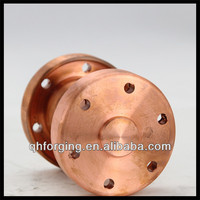 Electrical connector intermediate flange