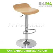 Factory price vintage rustic wooden stool supplier