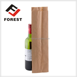 Wine paper bag for packaging paper kraft bag
