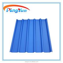 Coperture in lamiera dimensioni/ondulate per coperture in lastre di plastica/piatti prezzi coperture