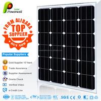 Powerwell Solar Modules PV Panel 65W Monocrystalline Solar PV Module