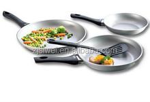 Plata caliente utensilios de cocina con espátula de Nylon