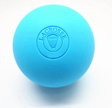 free shipping embossed rubber lacrosse ball