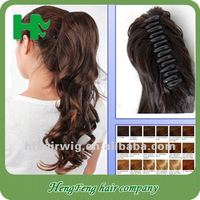 Cheap black women wigs hair pieces tape synthetic ponytail