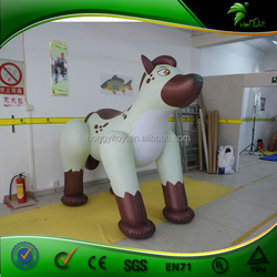 Factory Directly Sell Inflatable Large Dog,Inflatable Cartoon, Lovely Inflatable Model for Sale