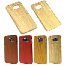 Imitative Wood PC Hard Case For Samsung Galaxy S6