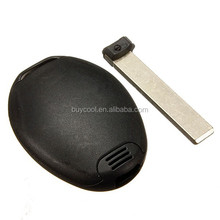 2 Buttons Remote Key Replacement Fob Case Shell For Mini Cooper