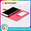 anti shock magnet wallet leather back waterproof cover case for samsung s4