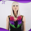 Wholesale Fashion Halloween wigs, Long Hair Wig Mixed 4 colors OEM