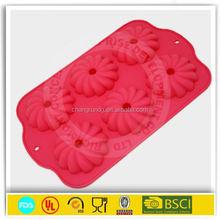 Petaline donut pan silicone cake baking tray