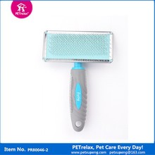 (M) PR80045-2 colorful elegant and graceful dog groomer cat groomer plastic brush