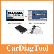 2014 Alldata V10.53 Mitchell on demand repair software 2 in 1 HDD