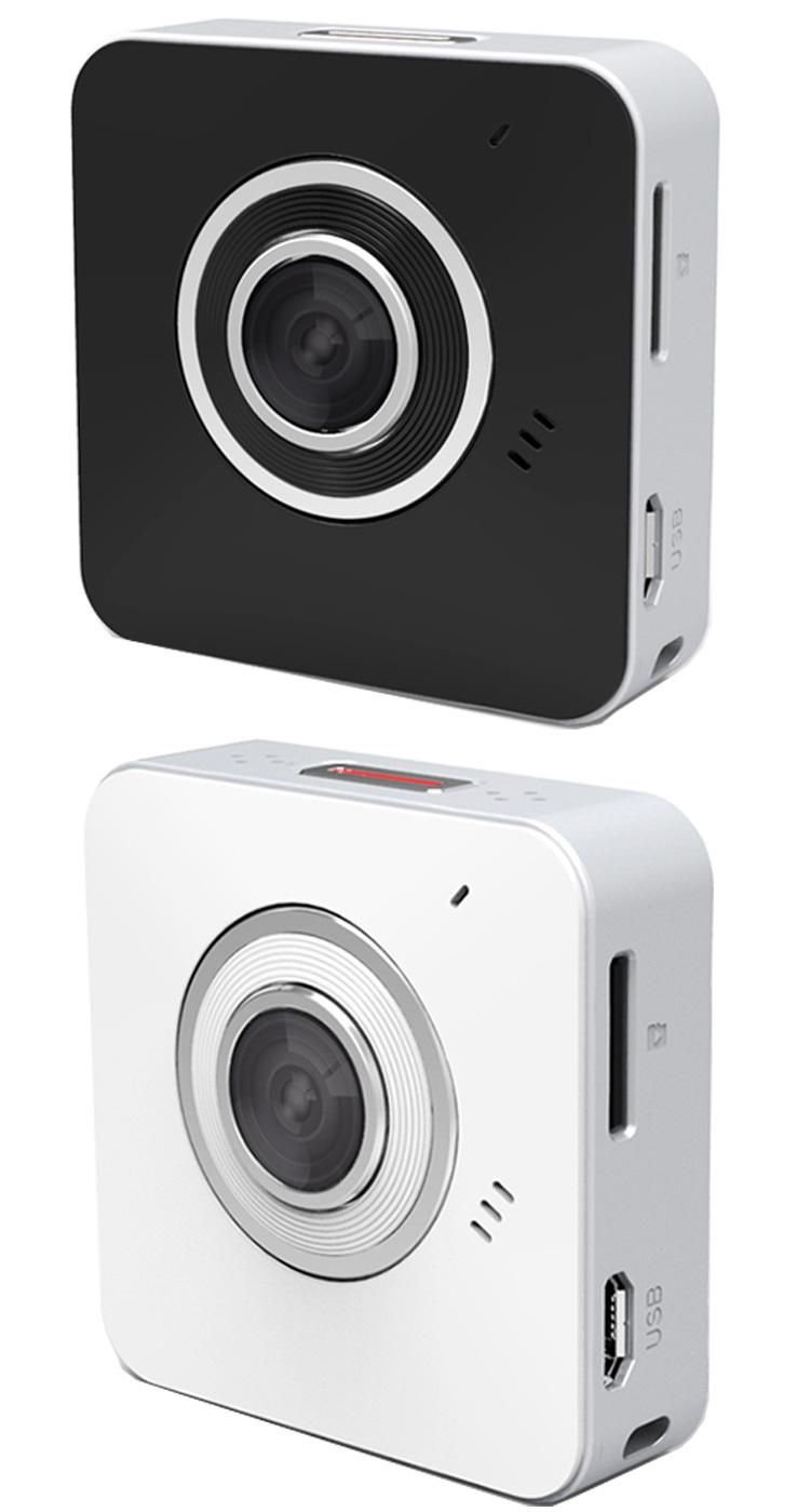 2015 New Cloud wifi P2P portable wearable hidden ip video camera
