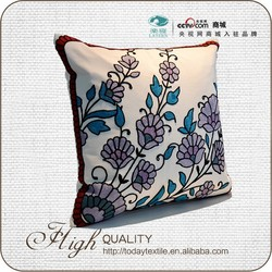 Fancy comfortable flower new-design throw pillow cover