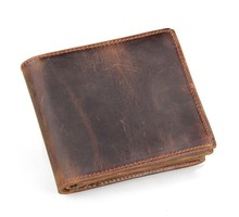 8056R JMD New Arrival High Quality Men Heavy Duty Leather Wallet