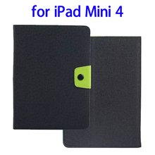 Factory Price Nice Buckle Leather Phone Case for iPad Mini 4