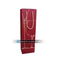 2015 new products blank wine bag, 6 bottle wine tote bag for wholesale