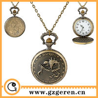 1285o 2014 New Design Online Wholesale Antique Horde World Of Warcraft Cartoon Turnip Pocket Watch For Kids 4 Years Old Service