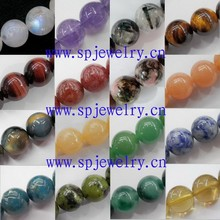 different types of beads, round 2-16mm, 16-inch per strand