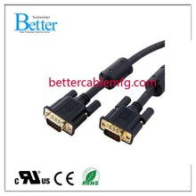 Top level Crazy Selling 3 male rca to vga adapter cable