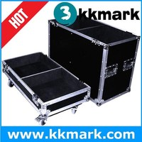 plywood+aluminum cases for speaker flight cases in high quality