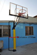 Inground Basketball hoop Stand basketball system