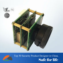H.264 His3507 chip the smallest double board(38x38mm) support WIFI,IO interface,external Pan Tilt,SDK IP CAMERA MODULE