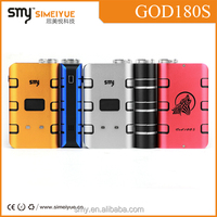 China product popular e-cigarette SMY god 180s wholesale product smy god 180s factory price sole distributors wanted