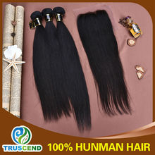 Wholesale Human Hair Extension 100% Brazilian Virgin Remy Supreme Hair Weave Straight