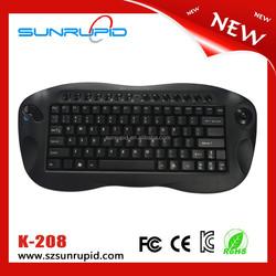 82 keys 2.4G all in one wireless keyboard and mouse multimeida mini keyboard