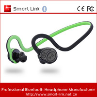 wireless bluetooth sweat resistant headphone for sports support music and talking