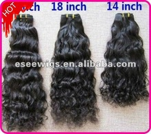 Factory wholesale 100 human hair christmas gift
