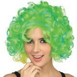 St. Patrick's Day 100th good price wig football fan fashion vigin remy hair