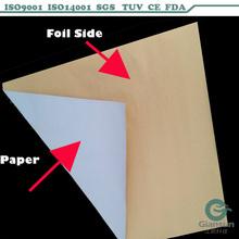 Aluminium Foil sheet for chocolate packing/colored aluminum foil sheet