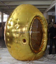 260cm/8.5ft golden egg inflatable money catching/advertising/money catching inflatable W344