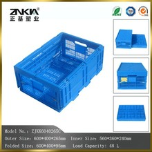 PP Material and Yes Foldable plastic chicken transport crates