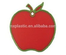 Apple shaped plastic cutting board for fruit vegetable