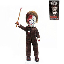 "Living Dead HALLOWEEN MICHAEL MYERS Dolls 27cm/10.6"" Action Figure New in Box"