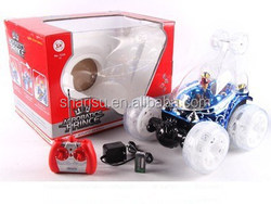 R/C children model electrical remote control stunt toy car