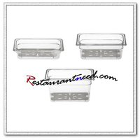 P208 1/4 Polycarbonate Food Gastronorm Container
