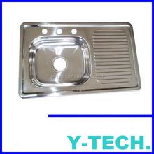 Modern kitchen designs kitchens sink square undermount single bowl kitchen sink YKM80L