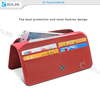 Wholesale phone case for 4.5-5.0 inch, wallet style for cellphone pouch