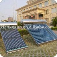 Sun energy power flat plate solar water heater for bath
