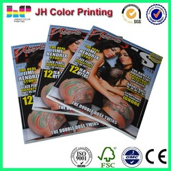 cheap magazine print, high quality magazine printing, print magazine in china