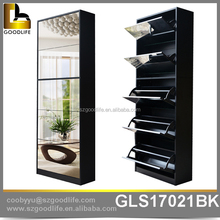 High Quality Modern shoe cabinet with mirror, shoe rack accessories