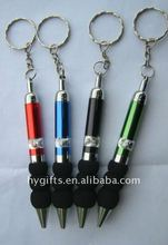 Promotional Cheap Pen With Keychain