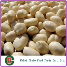 Shandong round type blanched peanuts, Raw Blanched Peanuts