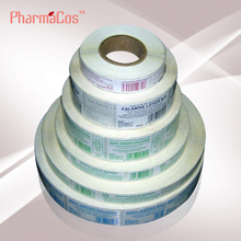 Adhesive label for cosmetic,medicine,food,bottle etc