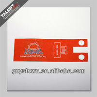 customized shape & double face label patches for apparel for apparel