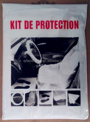 Disposable car clean set for car 5 in 1